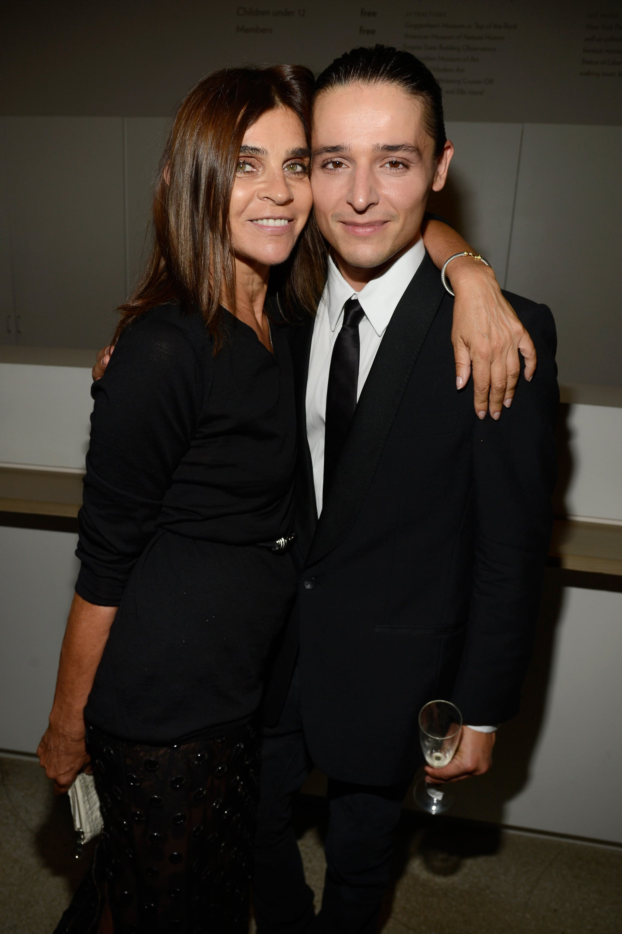 Carine Roitfeld linked up with designer Olivier Theyskens.