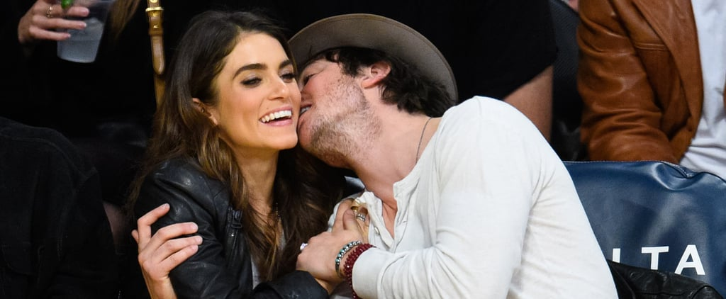 Ian Somerhalder Can't Keep His Hands (or Lips) Off of Nikki Reed
