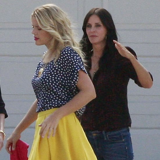 Courteney Cox and Busy Philipps on Cougar Town Pictures