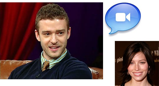 Justin Expresses His Love For iChat With Oprah