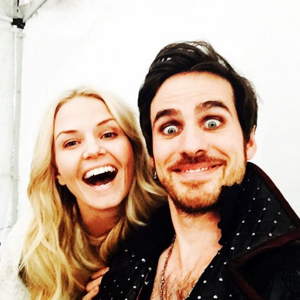 The Once Upon a Time Cast Hanging Out   POPSUGAR Celebrity