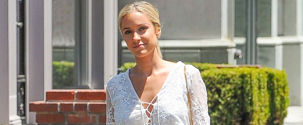 Kristin Cavallari Is a Vision in White While Enjoying the LA Sun