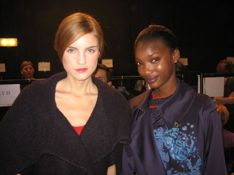 Backstage Beauty: Aquascutum