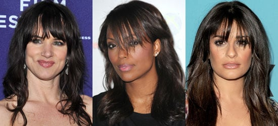 Celebrities With Long Bangs