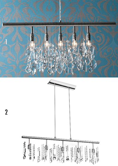 Less or More Game: Crystal Chandeliers