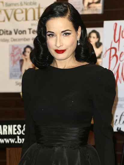 Dita Von Teese: I Don't Own Sweatpants - and I Don't Take That Long to Get Ready!