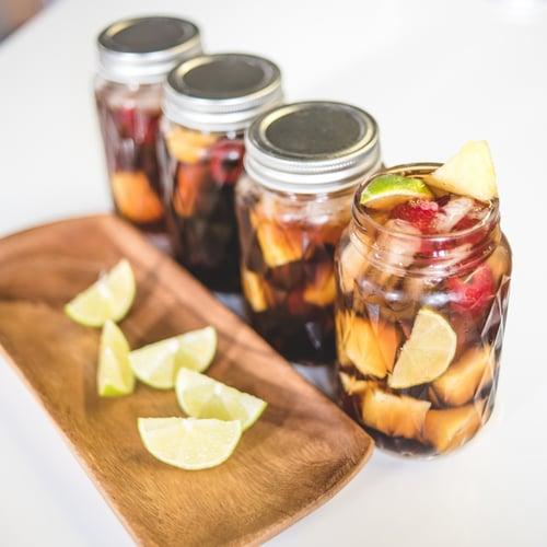 Pineapple-Raspberry Long Island Iced Tea   POPSUGAR Food