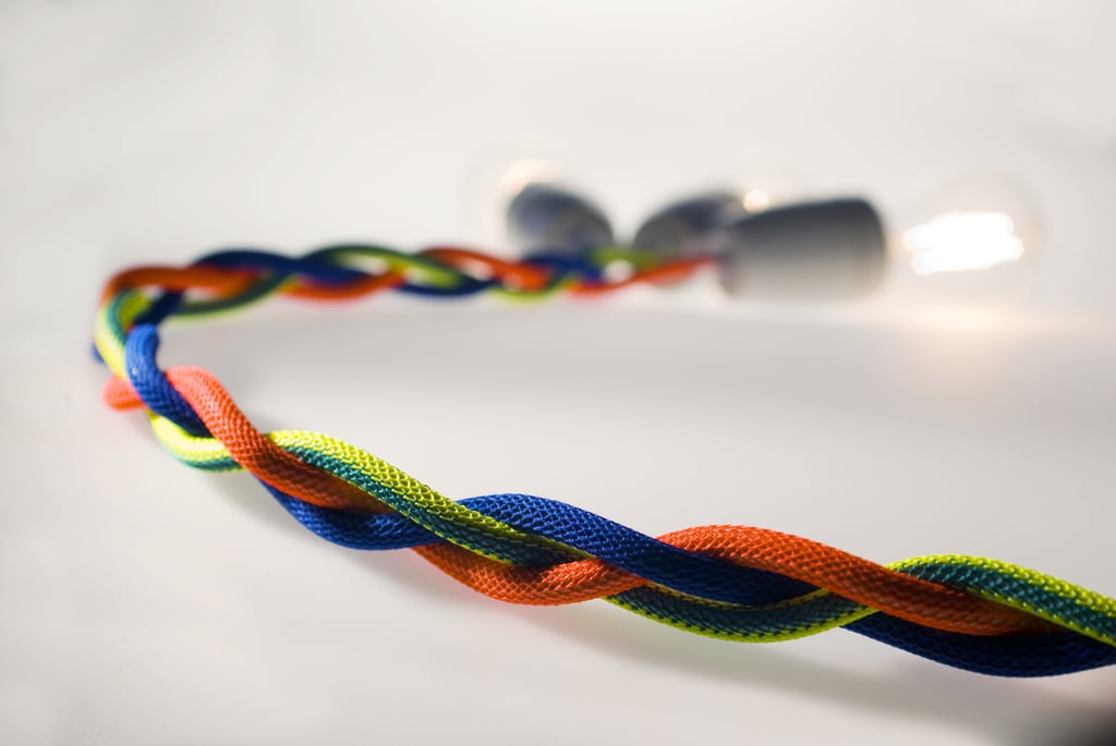 Photos of the NUD Textile Cables and Lights