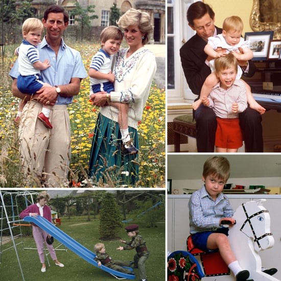 31 Adorable Photos From Prince William's Childhood