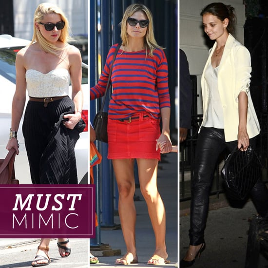 This Week's Most Covetable Celebrity Styles — Work Them Into Your Mix!