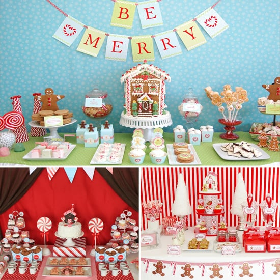 Christmas party ideas for kids popsugar moms for X mas decorations for kids