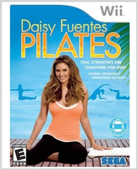 Daisy Fuentes Pilates: Coming to a Wii Near You Aug 9