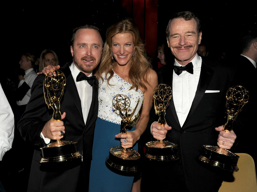 Aaron, Anna, and Bryan celebrated their wins at the Governors Ball.