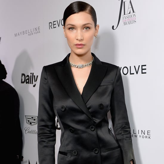 Bella Hadid's Moschino Dress at Daily Front Row Awards 2016