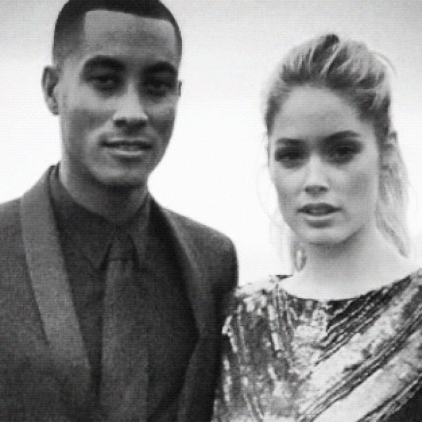 Doutzen Kroes and husband Sunnery James celebrated their two-year wedding anniversary with a happy snap. Source: Instagram user doutzenkroes1