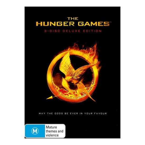 The Hunger Games 3 Disc Deluxe Edition DVD, $35