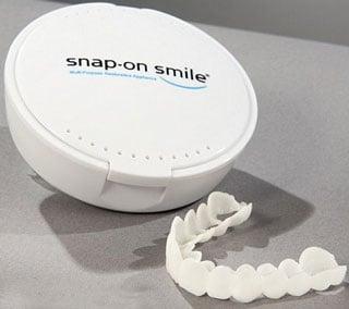 Snap-On Smile Veneer Alternative