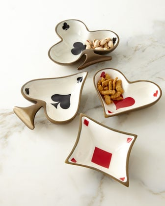 For the Card Sharks in the Family: Spade Dish
