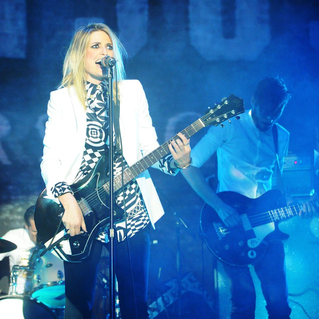 Dead Sara performed at the JW Anderson for Versus launch party. Source: Billy Farrell/BFAnyc.com