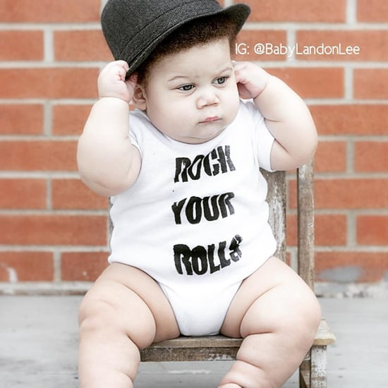 Fat-Shamed Baby Called Stuff Curry | Landon Lee Photos