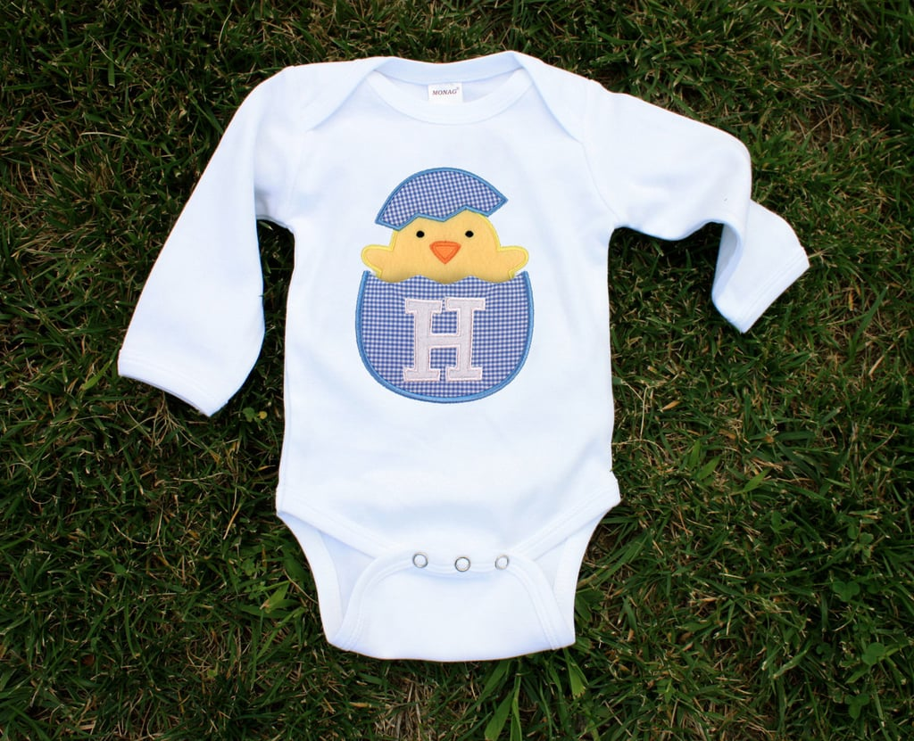 Tracy Scott Design Easter Onesie