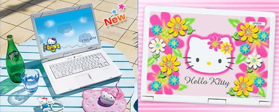 Sanrio and Epson Collide to Create Hello Kitty Laptop!
