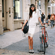 A white laser-cut outfit is totally on our list of Summer must haves. But even if there are plenty of girls on the street rocking the style, you'll stand out when you slip on patterned shoes or bold sunglasses. Source: Instagram user natalieoffduty