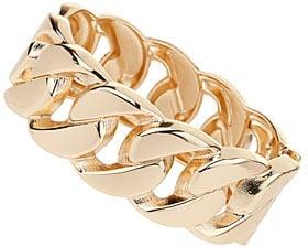 Chunky chain cuff bracelet