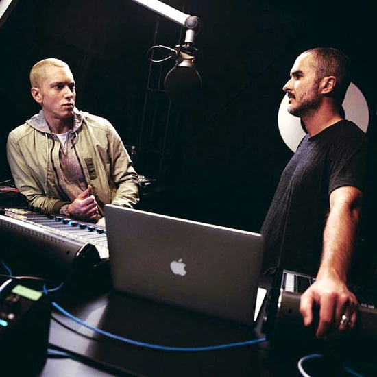 Eminem Looks Healthy in New Photo With Zane Lowe: Pic