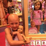 1 Mom's Touching Thank You to American Girl For Displaying Dolls Without Hair in Stores
