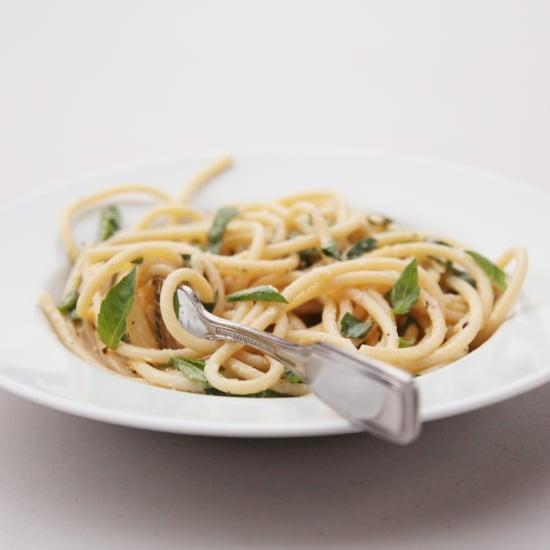 Lemon-Parmesan Pasta Recipe