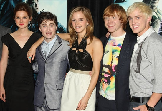 Photos From New York Premiere Of Harry Potter and the Half-Blood Prince, With Emma Watson, Bonnie Wright, Rupert Grint, Daniel