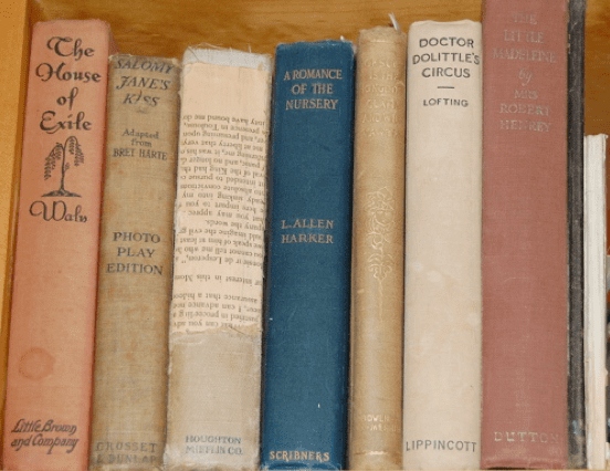 Write a Poem or Note Inside the Family's Favorite Books