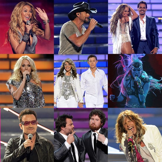 2011 American Idol Finale With Beyonce, Lady Gaga, Jennifer Lopez, Carrie Underwood, Steven Tyler, and Scotty McCreery