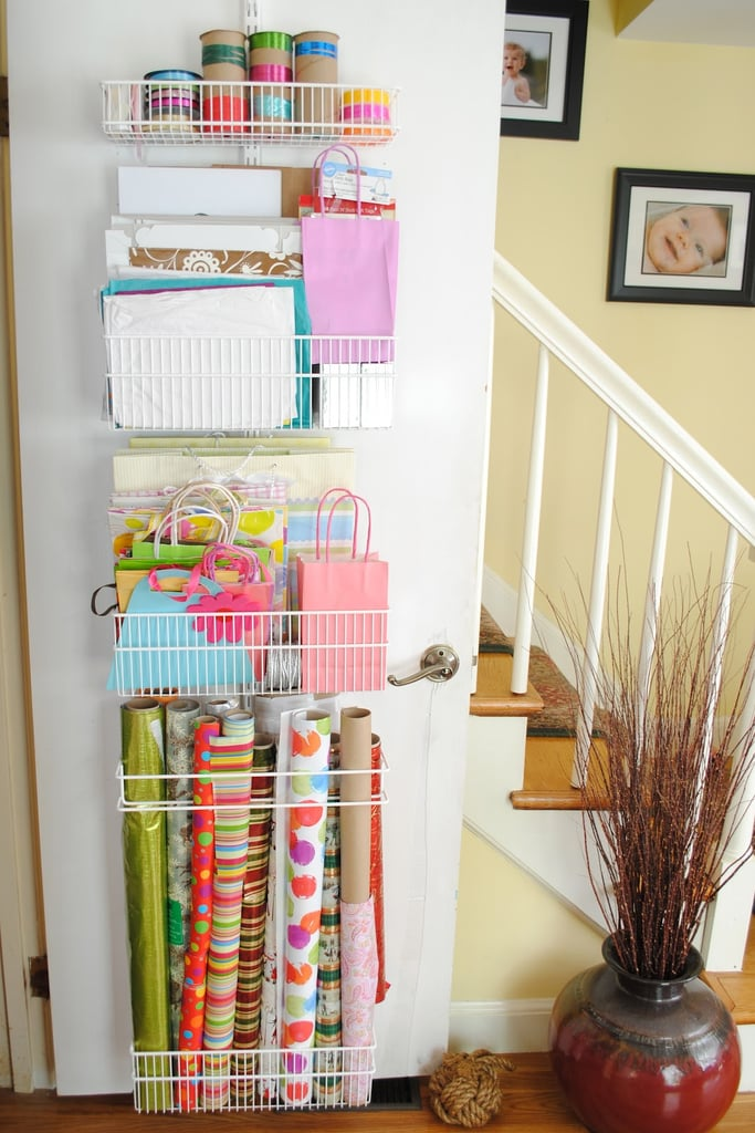 Wrapping-Paper Racks