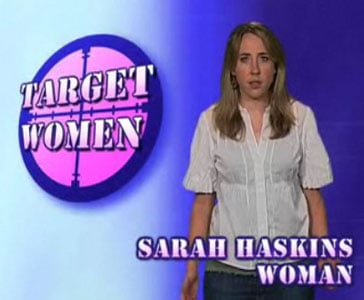 Say What? Sarah Haskins Rages Against the Machine