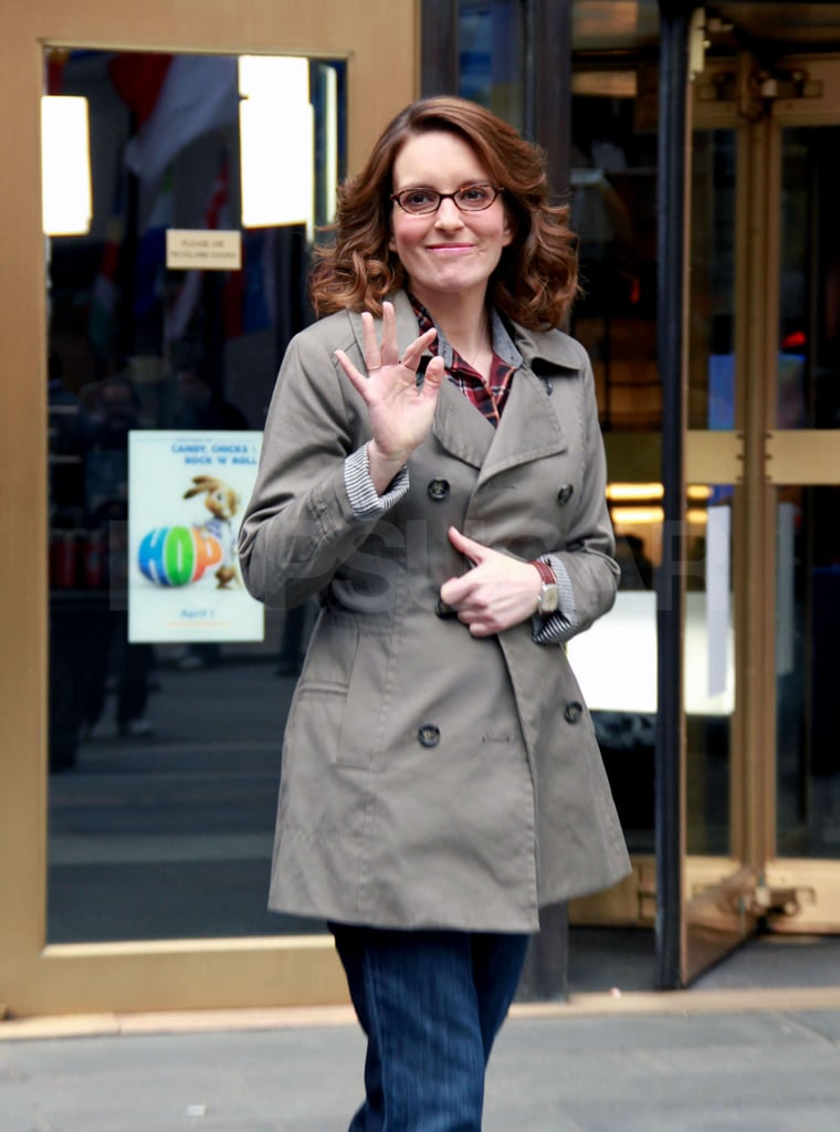 Tina Fey Has a Playful Evening Out, Pens a New Piece For the New Yorker, and Shoots More 30 Rock!