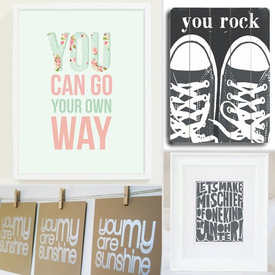 Simply Sweet Words For Kids' Rooms: 11 Sayings That Make an Impact
