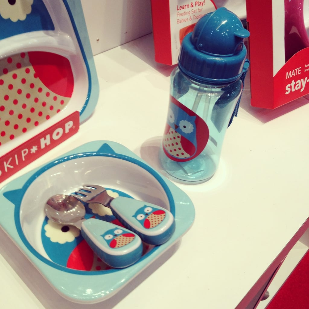 Skip hop will expand its tabletop offerings with toddler-size utensils (featuring its beloved characters) and sippy bottles.