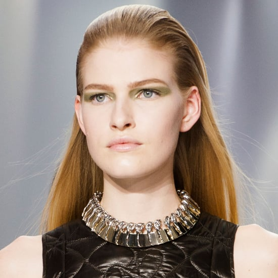 Christian Dior Fall 2014 Hair and Makeup   Runway Pictures