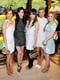 Ahna O'Reilly, Emmy Rossum, Hailee Steinfeld, Brooklyn Decker, and Isla Fisher at the Tory Burch Rodeo Drive flagship opening.