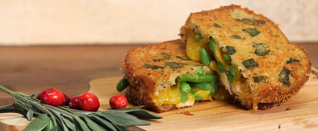 Transform Thanksgiving Leftovers Into an Unbelieveable Grilled Cheese