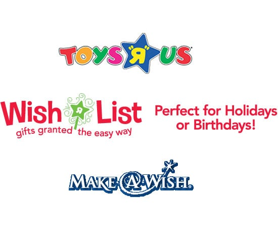 """Toys """"R"""" Us and Make a Wish"""