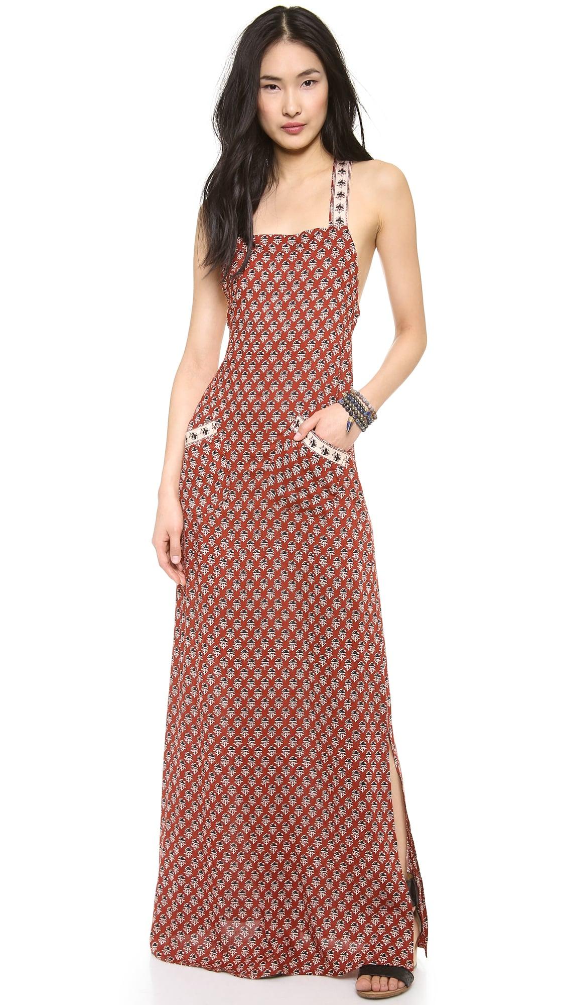 Flynn Skye Apron Maxi Dress
