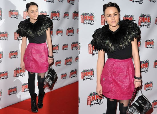 Jaime Winstone at the 2009 NME Awards