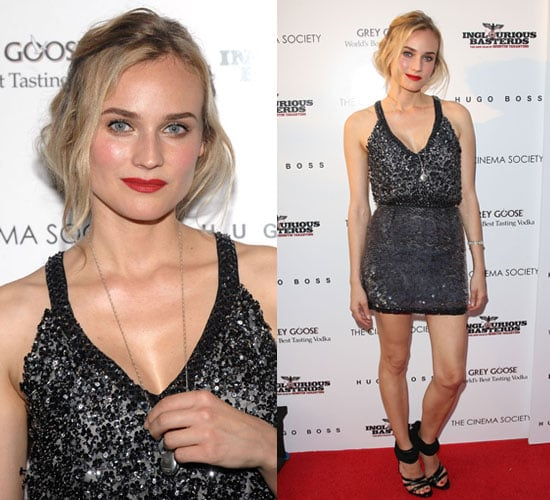Photo of Diane Kruger at Inglourious Bastards Premiere In NYC