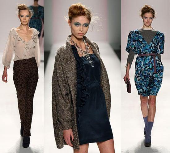 2009 Fall New York Fashion Week: Rebecca Taylor