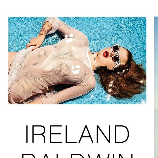 Ireland Baldwin Strips Down For Sexy Poolside Shoot In Treats! Magazine