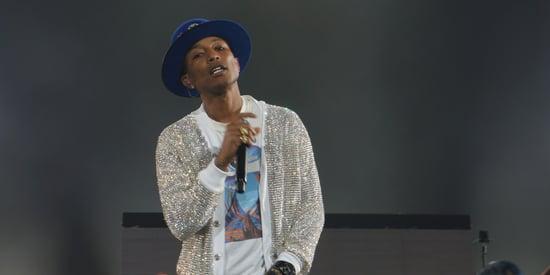 Pharrell Channels Michael Jackson In Swarovski Crystal Cardigan On 'Dear Girl' Tour