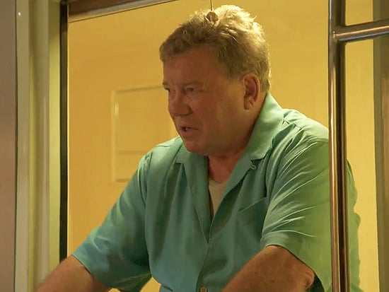 Butt of the Joke? William Shatner Comes Face to Cheek with a Naked Man on Better Late Than Never